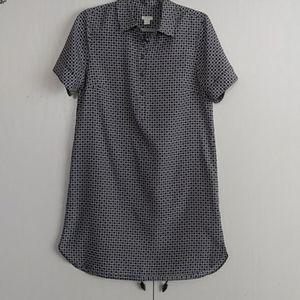 J Crew shirt dress.